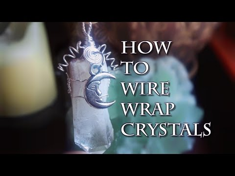 ✨ How To Wire Wrap Crystals ✨ (Updated!!)