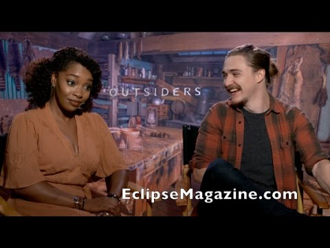 Fun with WGN Outsiders SASIL, Christina Jackson & Kyle Gallner