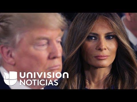 Otros momentos en los que Melania parece hacerle un desplante a Donald Trump