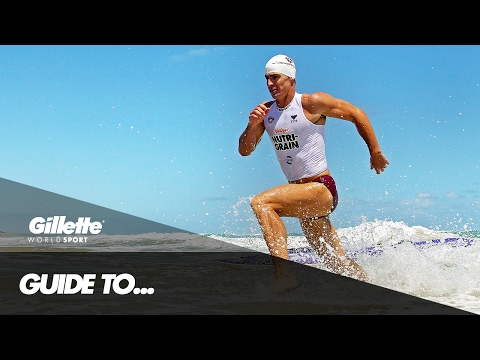 The Surf Life Saving Ironman with Shannon Eckstein | Gillette World Sport
