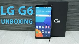 LG G6 Unboxing & Overview - Black