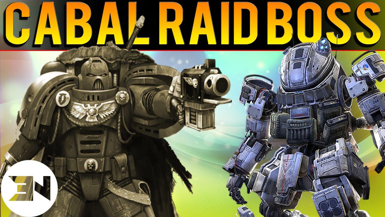 Cabal raid destiny groups