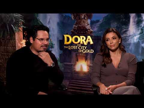dora-and-the-lost-city-of-gold-  -eva-longoria-&-michael-pena-junket-interview-  -#socialnews.xyz