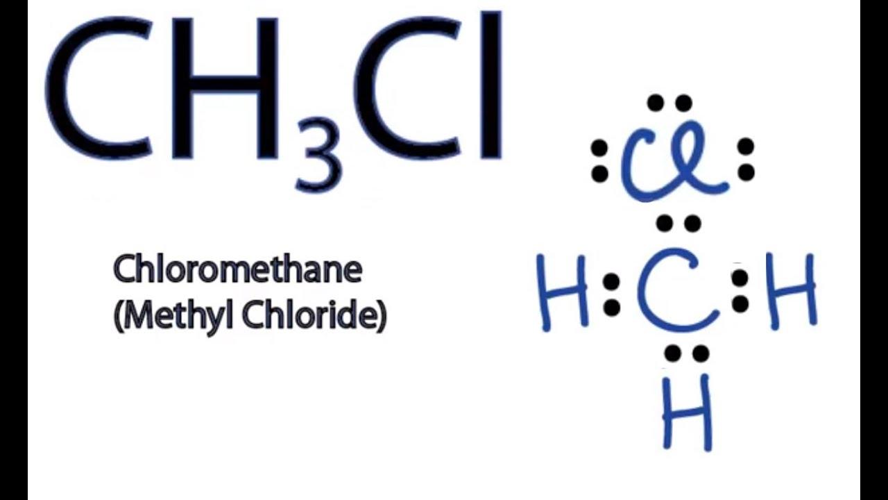 Ch3cl Lewis Structure