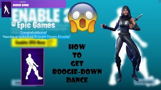 😱HOW TO GET / UNLOCK BOOGIE DOWN EMOTE / DANCE in Fortnite Battle Royale!😱 | Fortnite Boogie Down!