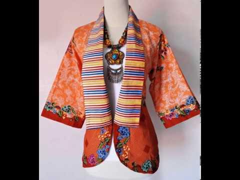 Blazer Batik Terbaru 2014 Batik Solo Milano05