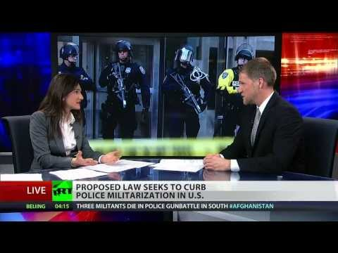 Proposed bill would curb militarization of US police