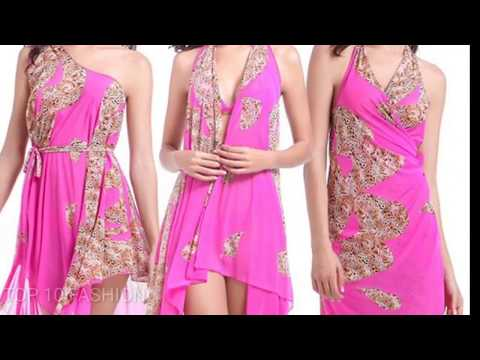 Beautiful beach dresses designs for girls/ beach dress women clothing india