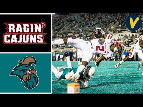Louisiana vs Coastal Carolina Highlights | Week 11 | College Football 2019