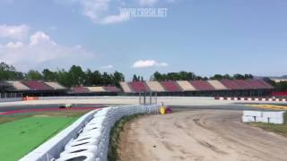 New Chicane at Catalunya MotoGP test