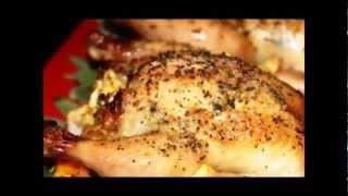 Roasted Cornish Hens