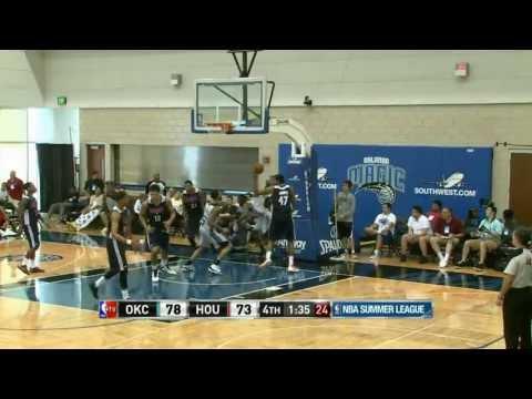 Oklahoma City Thunder vs Houston Rockets Summer League Recap