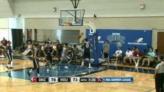 Oklahoma City Thunder vs Houston Rockets Summer League Recap