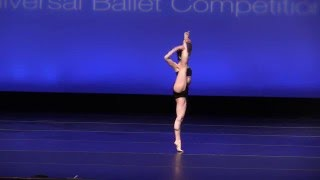 Sophie Miklosovic, 15 years old, Contemporary Solo, Take My Day, Sarasota Cuban Ballet,  2016