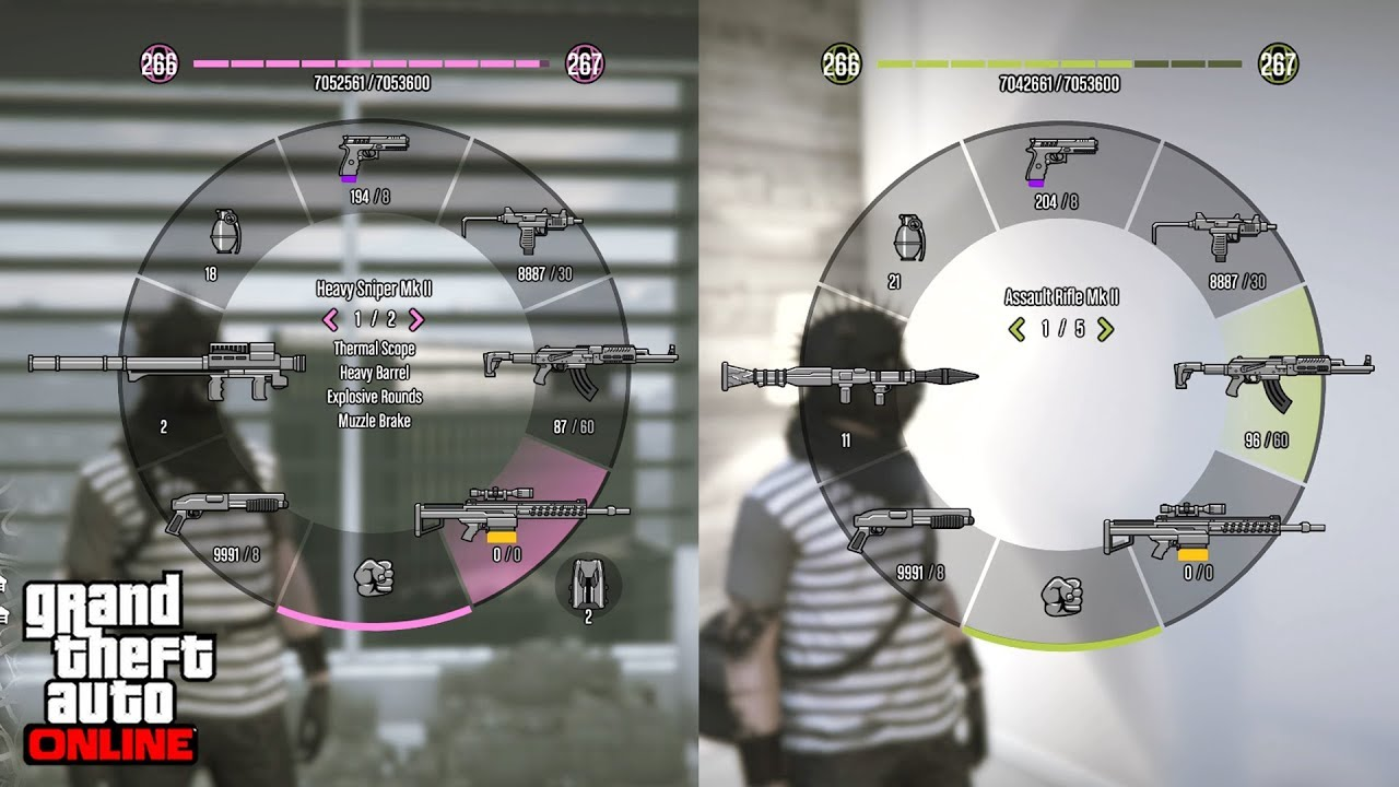 Weapon Wheel Color Glitch Change The Color Of Your Weapon Wheel