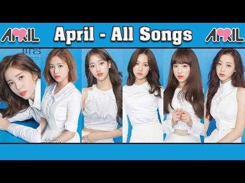APRIL (에이프릴) All Songs & Album Compilation