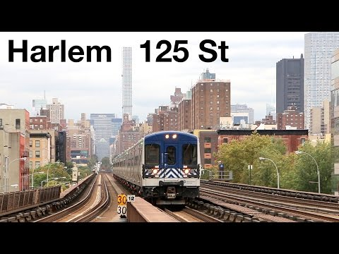 NYC: Metro-North Railroad at Harlem–125th Street
