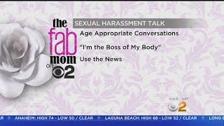 Fab Mom On 2: Talking To Kids About Sexual Harassment