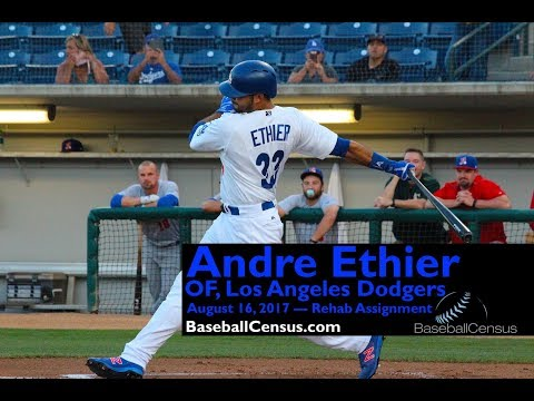 Andre Ethier, OF, Los Angeles Dodgers — August 16, 2017