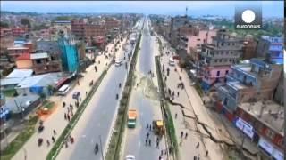 Последствия землетрясения в Непале с высоты птичьего полета. Новости сегодня 28.04.2015