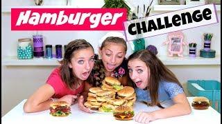The Hamburger Challenge 🍔  | Brooklyn and Bailey