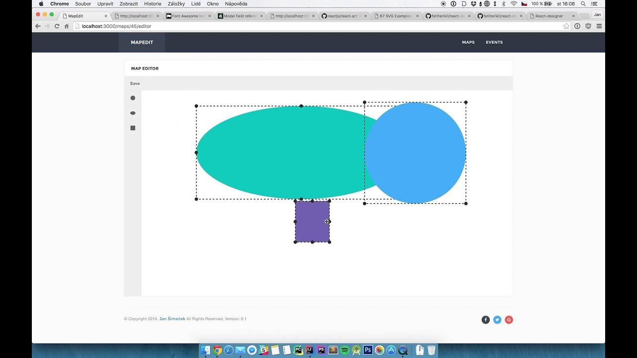 ReactJS - Basic SVG Editor
