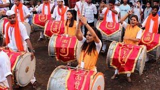 Mauli Dhol Tasha Pathak at Devi Chowkacha Raja Padhya Pujan 2017 | Dombivli
