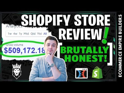 Reviewing A Shopify Dropshipping Store LIVE (Worse Than I Thought)
