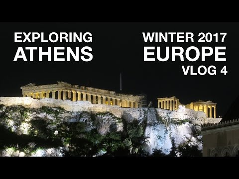 Best Views and Best Food in Athens, Greece   EUROPE VLOG 4