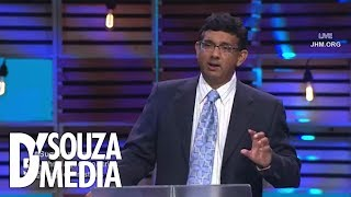 D'Souza shocks audience: Nazis learned eugenics from American progressives