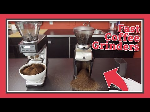 Coffee Grinder Speed Test | Latte Lab