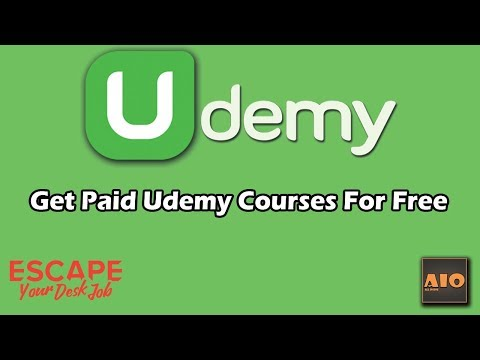How To Get Paid Udemy Courses For Free 2018