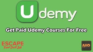 How To Get Paid Udemy Courses For Free 2019