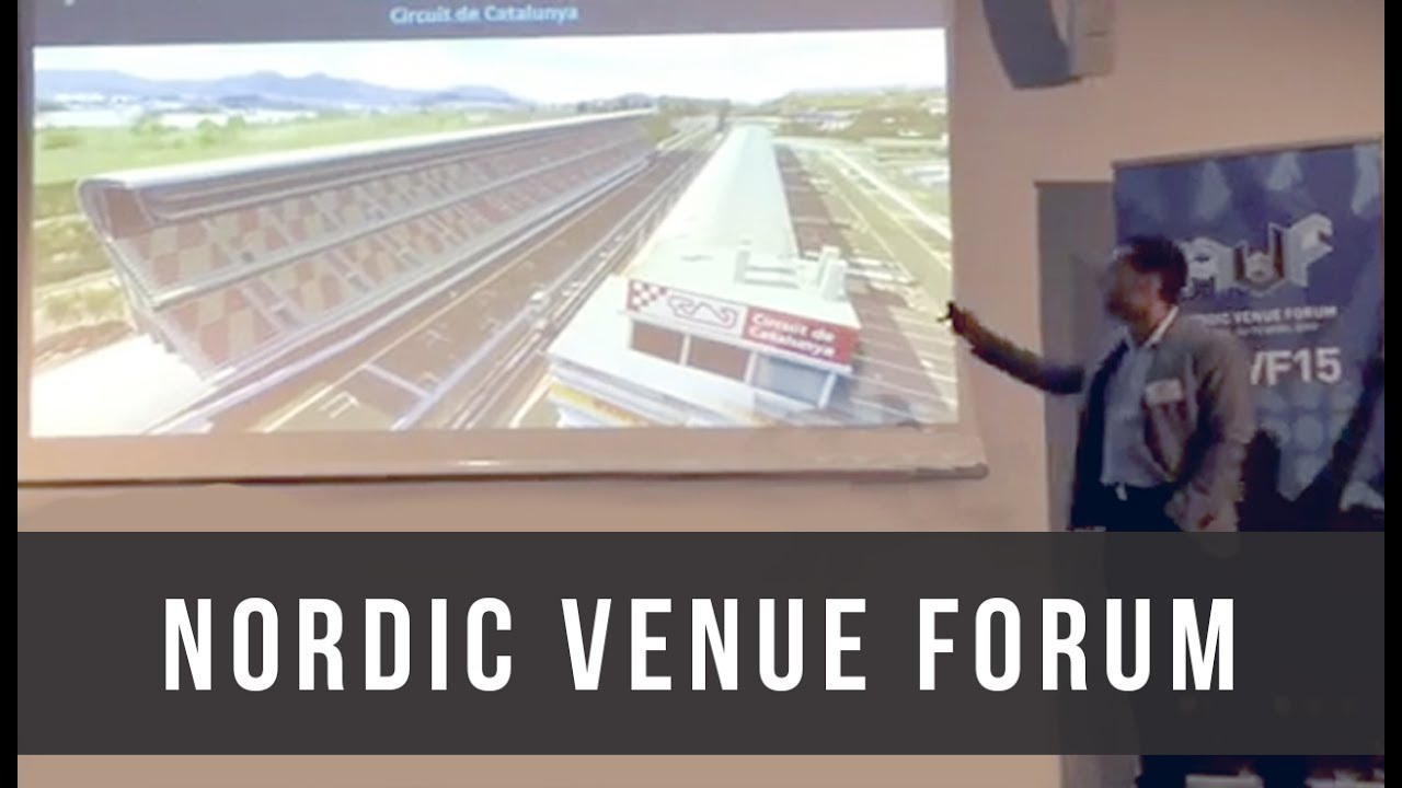 Ticketing3D at the 2015 Nordic Venue Forum