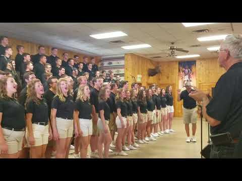 Purduettes and Purdue Varsity Glee Club- Hail Purdue