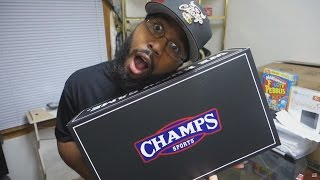 CHAMPS SPORTS UNBOXING (@SCOOP208)