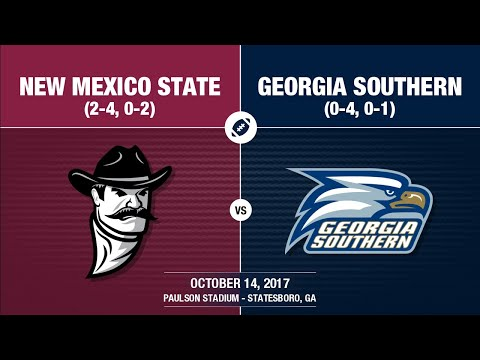 2017 Week 7 - New Mexico State at Georgia Southern