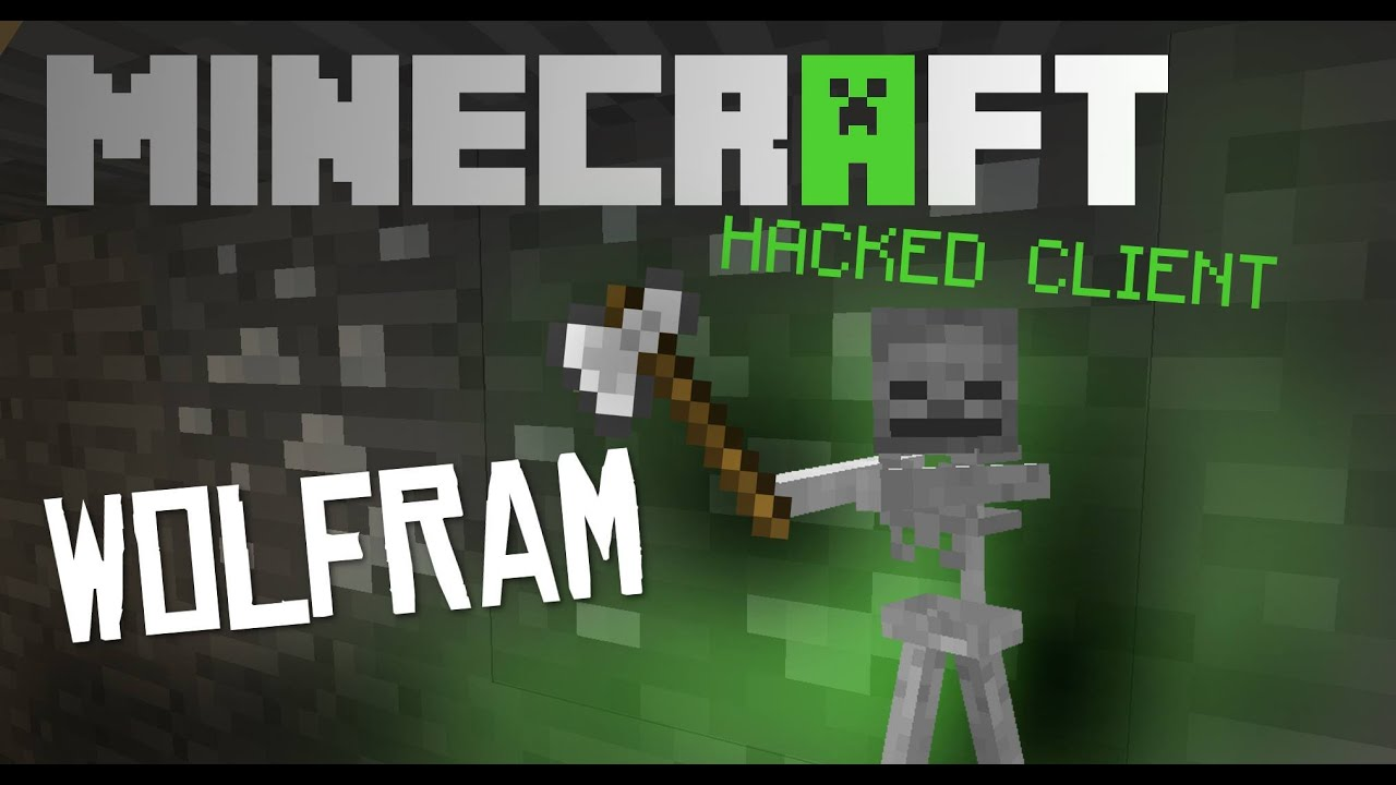 Minecraft 1.8 - 1.8.1 : Hacked Client - WOLFRAM ! - Tons ...