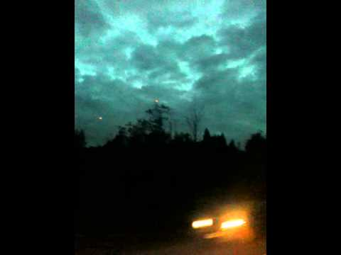 UFO sighting at lakelse lake, Terrace/Kitimat.British Columbia