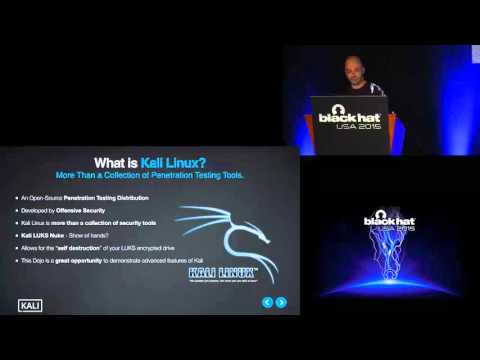 The Kali Linux Dojo Workshop #1: Rolling Your Own - Generating Custom Kali Linux 2.0 ISOs