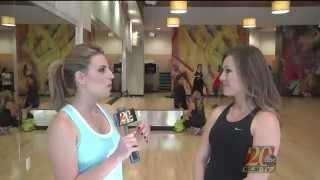 Emily Burris Tv20 Tries Body Combat