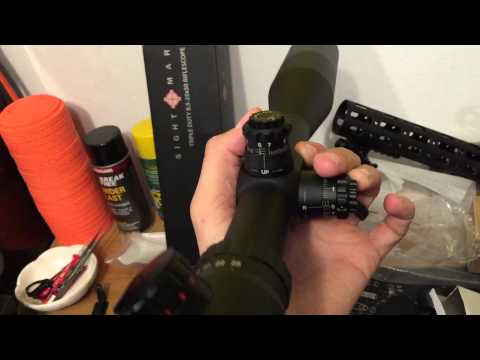 Unboxing of a                               Sightmark 8.5-25x50 Triple Duty scope. This model has anilluminated mil-dot reticle and cost $219 in April 2015.