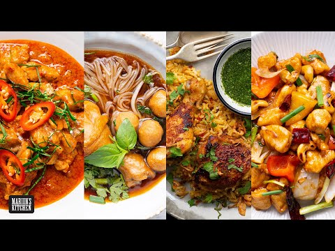 4 CLASSIC Thai Dinners You Can Make At Home | Marion's Kitchen
