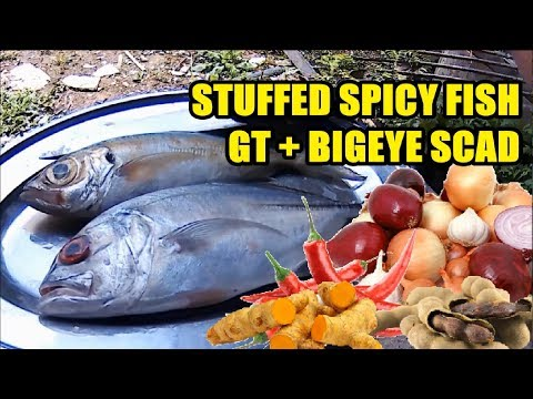 Clean And Cook | Chili Stuffing GT and Bigeye Scad