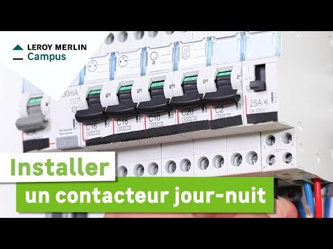 Comment Installer Un Contacteur Journuit Leroy Merlin