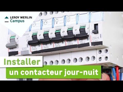 Comment Installer Un Contacteur Journuit Leroy Merlin