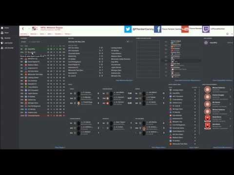 Football Manager 2016 Custom Editor Data - 7 tier USA system with minor league setup