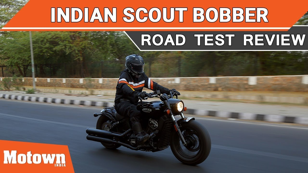 Indian Scout Bobber | Road Test Review | Motown India