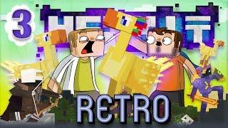 [Minecraft] Retro Hexxit - ep. 3 - EPICKÍ VTÁCI!
