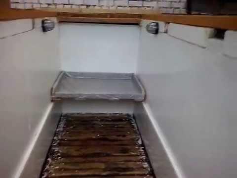 Лестница в смотровую яму своими руками
